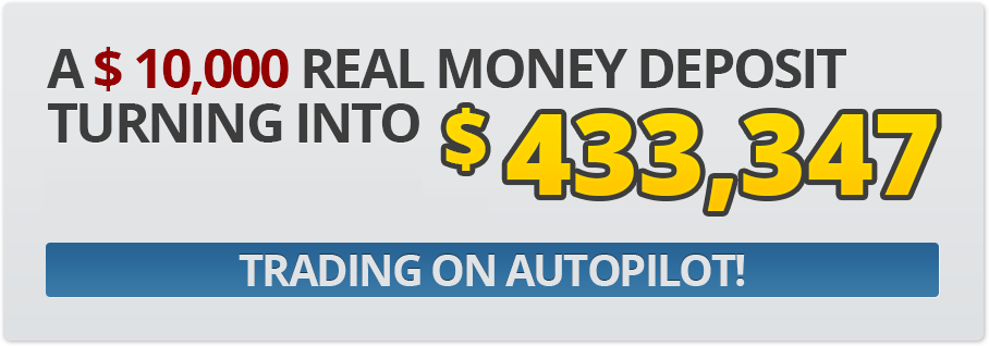 A $ 10,000 real money deposit turning into $ 433,347!